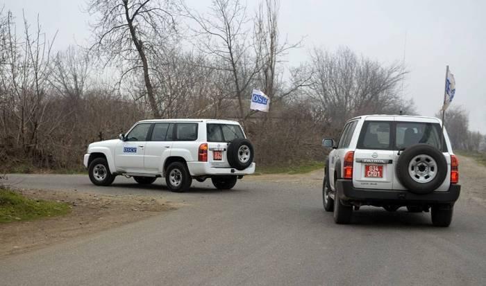 El siguiente monitoreo en la línea del contacto de las tropas armenio-azerbaiyanas