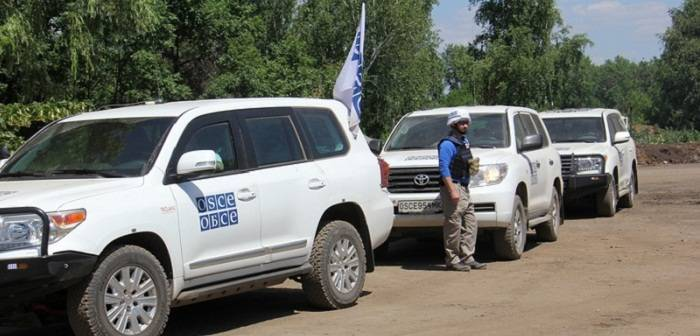 No incident during OSCE monitoring on contact line