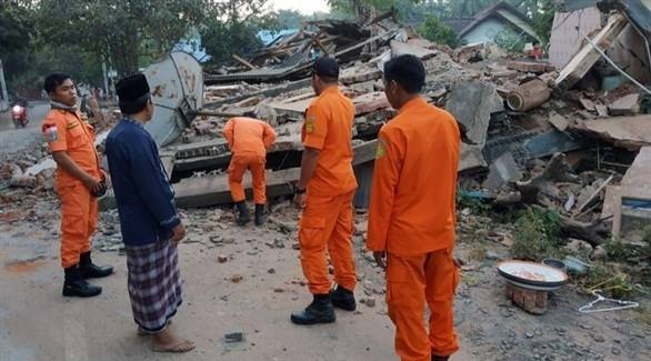 91 قتيلاً حصيلة زلزال إندونيسيا