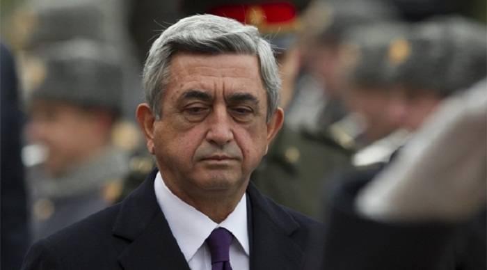 Serj Sarkisyan istintaqda dindiriləcək