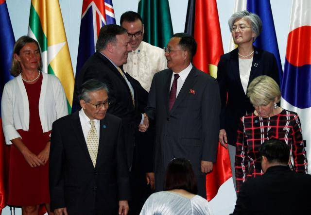 North Korea, U.S. spar over nuclear deal at Singapore forum