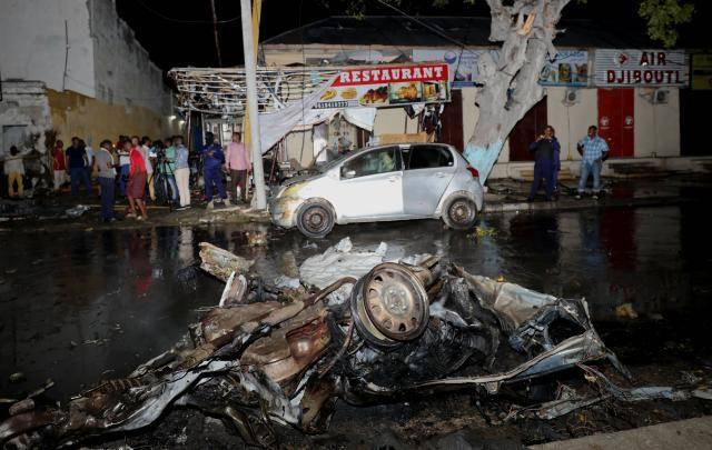 Three dead after bomb blast in center of Somalia
