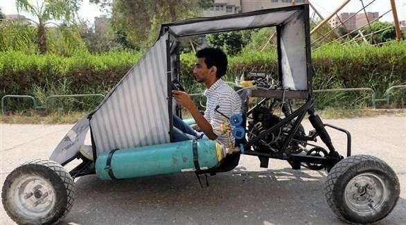 مصر: طلاب يصممون سيارة تعمل بالهواء
