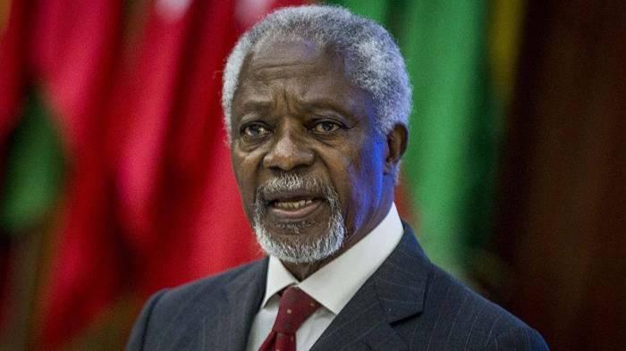 Kofi Annanın ölümünə görə matəm elan edildi