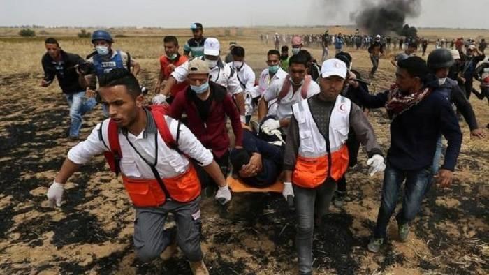 Qəzzada toqquşmalar: 2 ölü, 270 yaralı