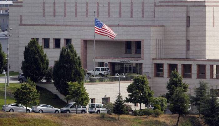 Unknown persons open fire at US Embassy in Ankara -