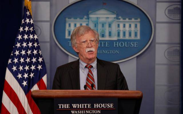 No U.S. government involvement in Venezuela drone blast: Bolton