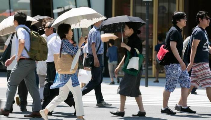 Yaponiyada istidən 144 nəfər ölüb