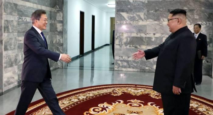 رئيس كوريا الجنوبية يقترح البدء بعملية الاندماج مع كوريا الشمالية