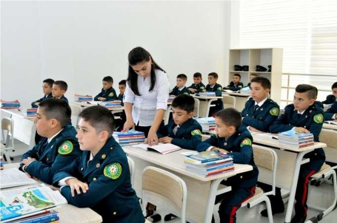 DSX-nın Xüsusi Məktəbində dərslər başladı - FOTOLAR