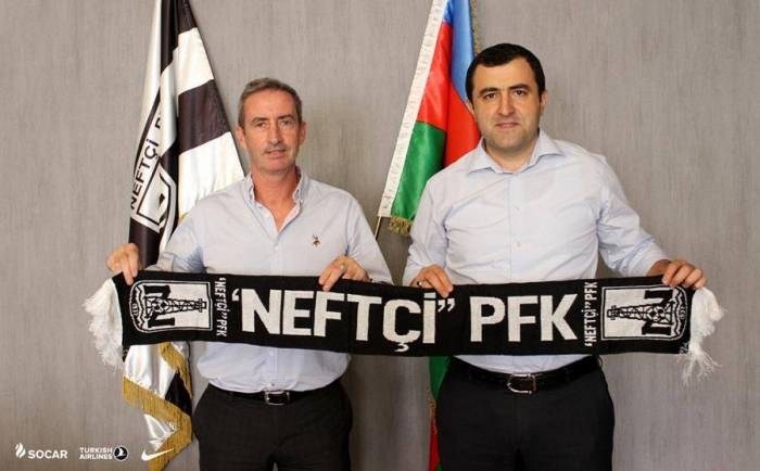 """55 yaşlı ingiltərəli məşqçi """"Neftçi""""də"""