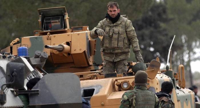 Turkey amasses forces in Idlib ahead of Damascus offensive