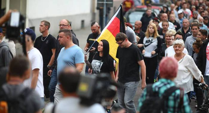 Protests erupt in Germany