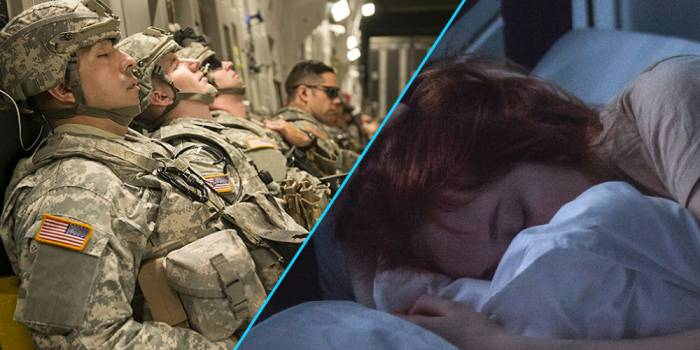 The military secret to falling asleep in two minutes