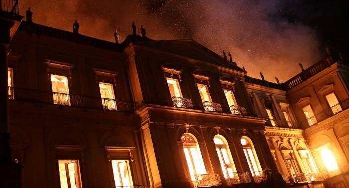 Nach Museumsbrand in Rio: Deutschland verspricht Millionenhilfe