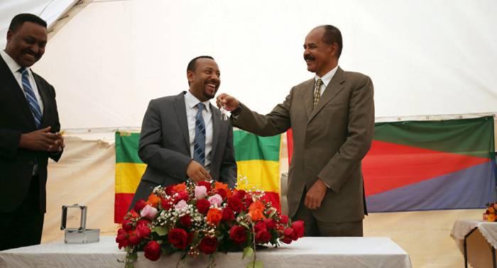 Etiopía reabre su embajada en Eritrea casi 20 años después del fin del conflicto