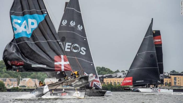 Extreme Sailing: Experiencing Formula One on water