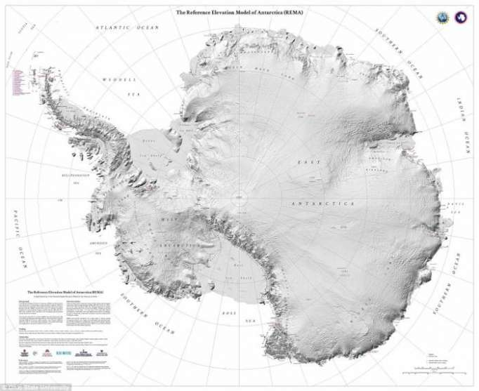 Scientists release highest resolution map of Antarctica ever made