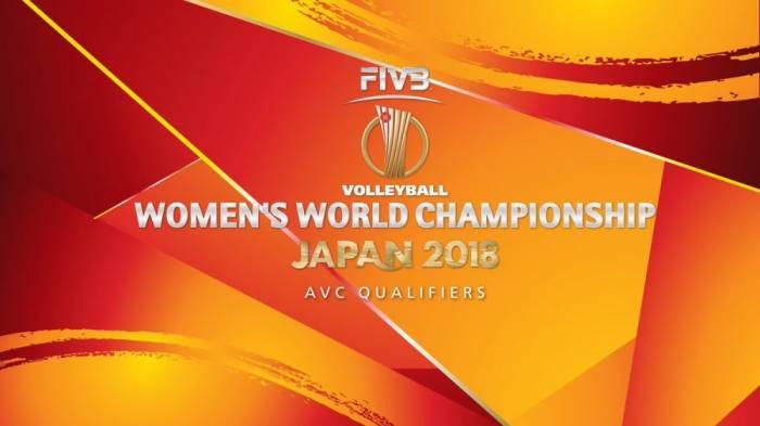 Aserbaidschanische Volleyballnationalmannschaft der Frauen trifft auf Kamerun
