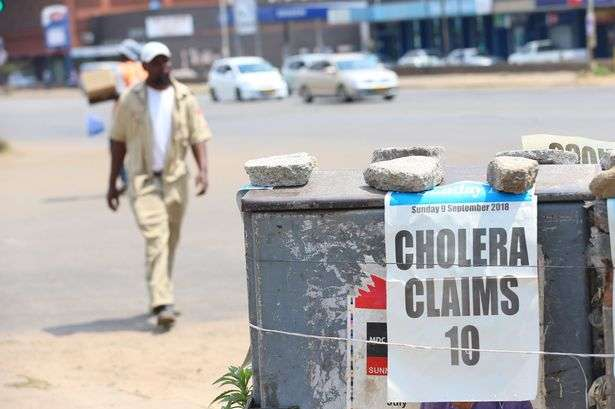 Zimbabwe declares cholera emergency in Harare
