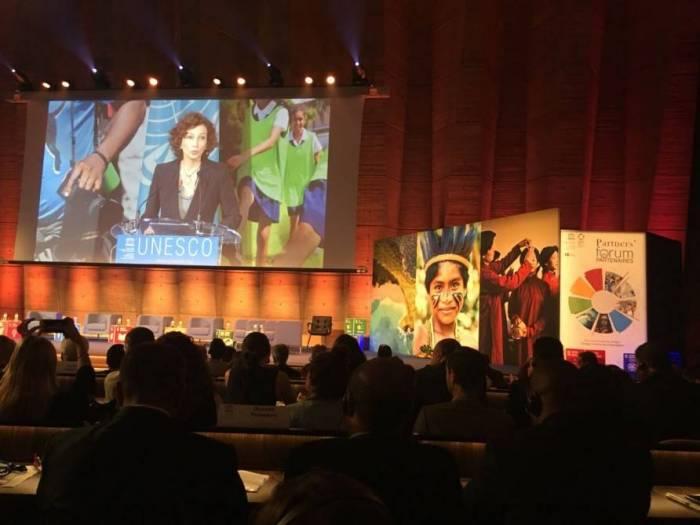 L'AIDA a été représentée au Forum des partenaires de l'UNESCO à Paris
