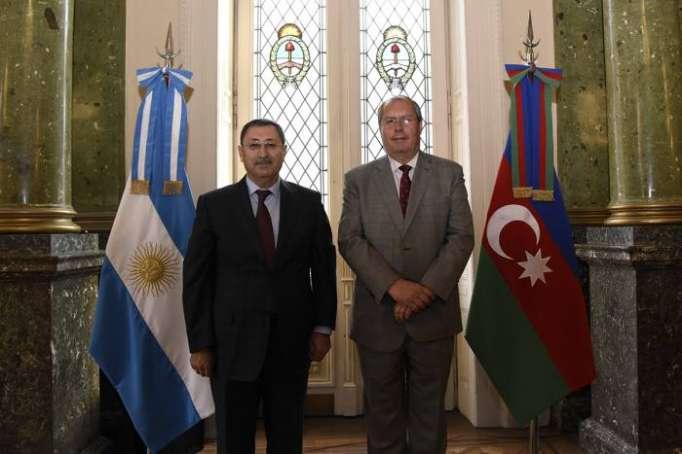 Secretario de Asuntos Exteriores de Azerbaiyán visita la Cámara de Diputadospara promover inversiones en Argentina