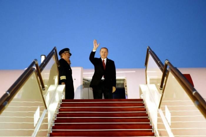Turkish President Recep Tayyip Erdogan ends official visit to Azerbaijan