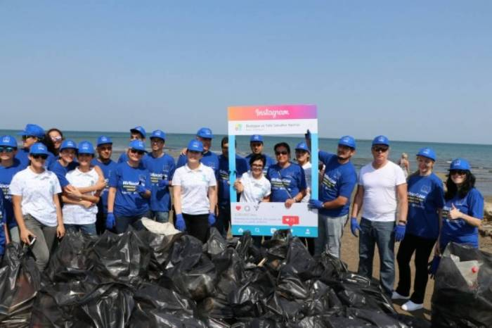 EU Delegation initiates beach clean-up campaign in Azerbaijan