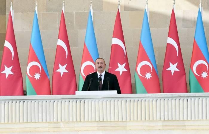 """""""Ordumuz döyüş meydanında öz gücünü göstərib"""" - İlham Əliyev"""