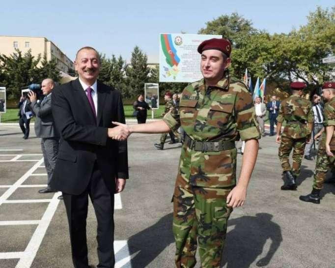 Ilham Aliyev participeà lacérémoniede prestation deserment des soldats - PHOTOS