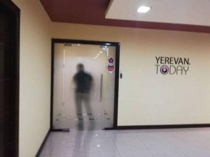 Ermənistan polisi KİV-lərə basqın edib - Məmurların gizli danışığı