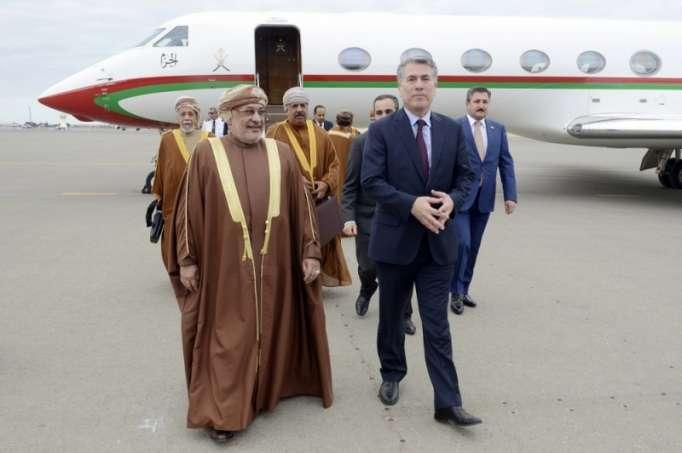 Omanın Dövlət Şurası sədri Bakıya gəlib