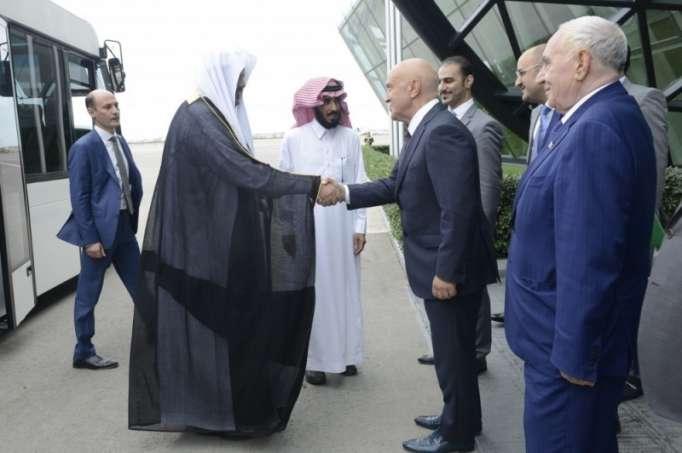 Le président du Conseil consultatif saoudien est en Azerbaïdjan