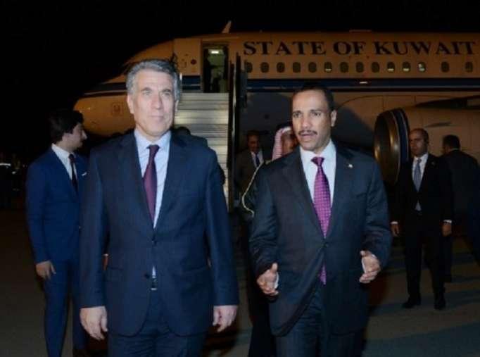 Leprésident du parlement koweïtien arriveà Bakou