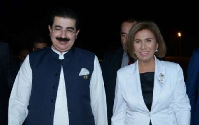 Pakistan Senatının sədri Azərbaycanda