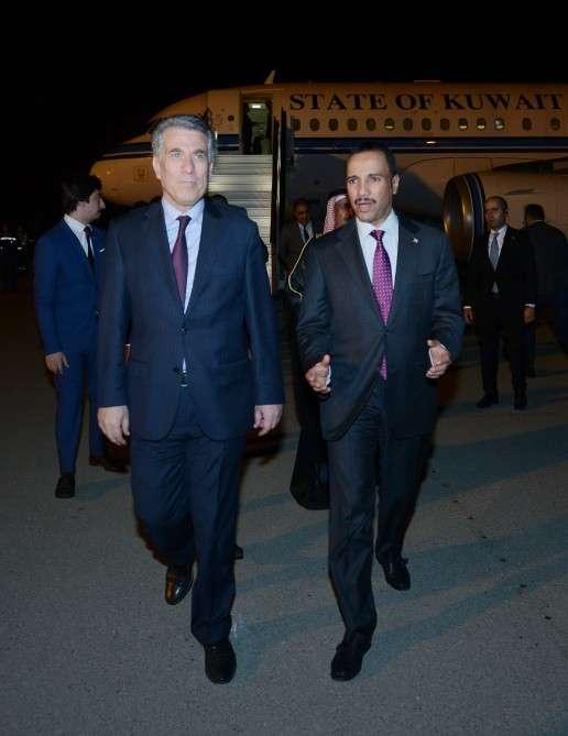 Vorsitzender von Nationalversammlung des Staates Kuwait zu Besuch in Aserbaidschan
