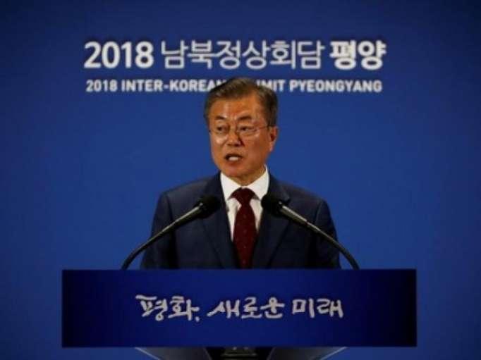 Moon - Nordkorea an schneller Abschaffung von A-Waffen interessiert