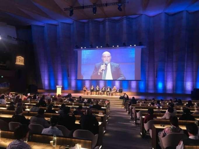 L'Azerbaïdjan est représenté à la Conférence internationale sur la Paix de l'UNESCO