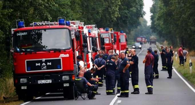 Se declara estado de emergencia en una región de Alemania por incendios forestales