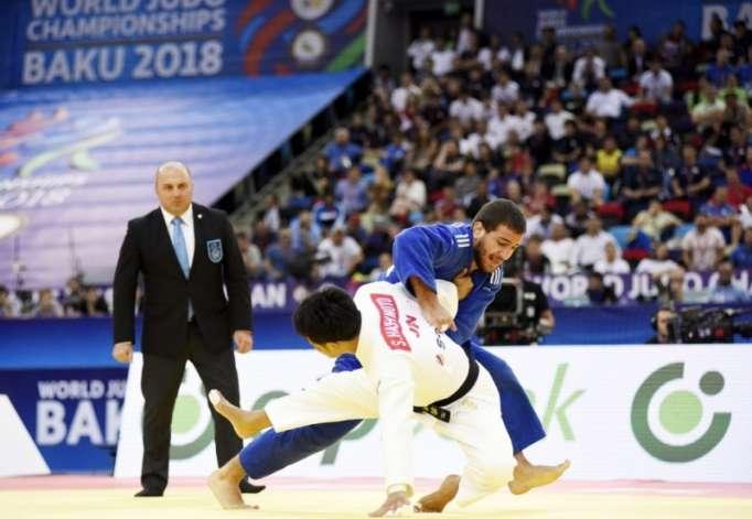 Championnats du monde de judo: Ilham Aliyev a assisté au combat pour le bronze