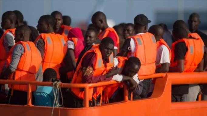 España rescata a 578 inmigrantes en 48 horas en el Mediterráneo