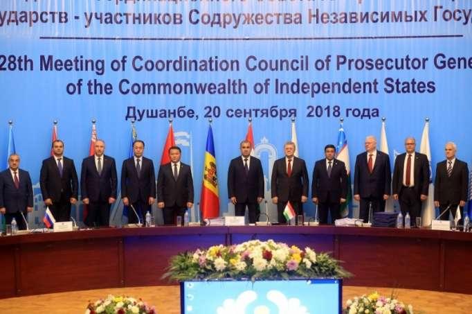 Rüstəm Usubov Tacikistanda keçirilən iclasda
