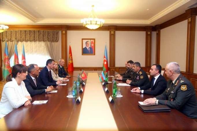 Azerbaijan, Montenegro mull military co-op