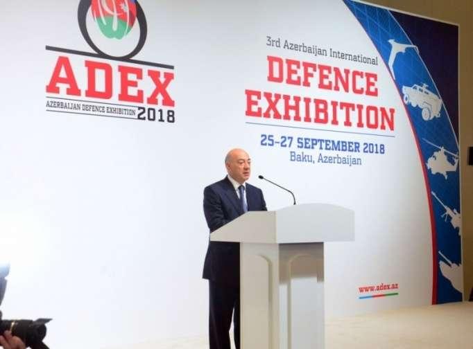 Le 3ème Salon international de l'industrie de défense ADEX-2018 ouvre ses portes à Bakou - PHOTOS