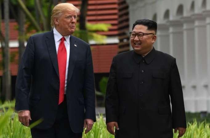 USA wollen zweiten Gipfel mit Trump und Kim Jong Un