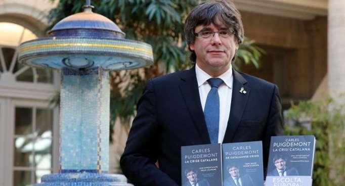 Puigdemont pide la mediación de Donald Tusk para Cataluña