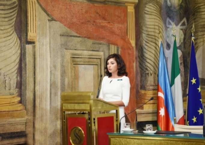 """""""La integridad territorial de Azerbaiyán debe ser restaurada"""" - Mehriban Aliyeva"""