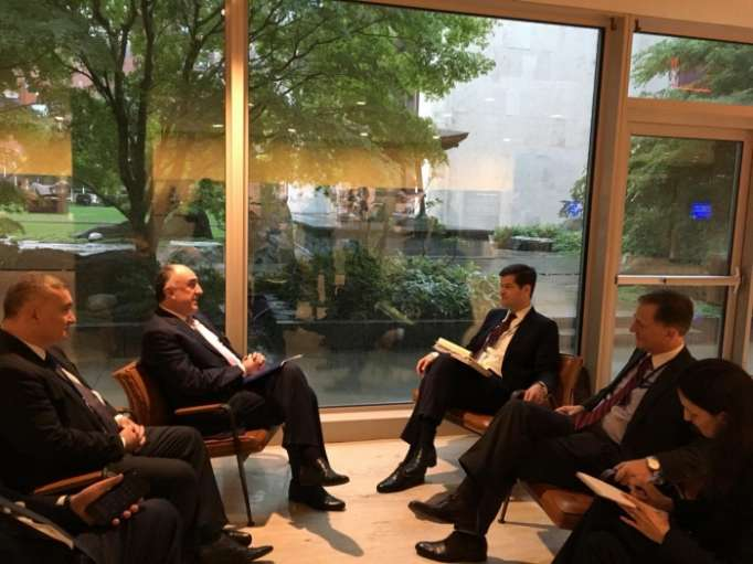 Azerbaijan's FM, US assistant secretary of state meet in New York
