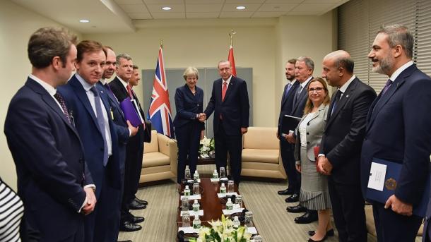 Erdogan realiza reuniones bilaterales en la Asamblea General de la ONU