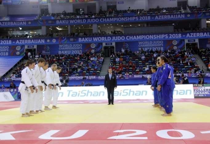 Judo: l'Azerbaïdjan remporte sa première victoire lors de la compétition par équipes mixtes